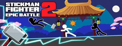 Play free game Stickman Fighter Epic Battle 2