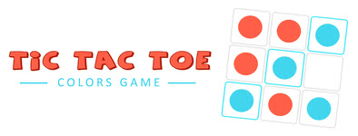 Play free game Tic Tac Toe : Colors Game