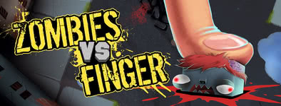 Play free game Zombies vs Finger