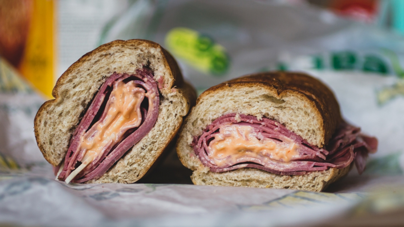 Subway REUBEN Sandwich