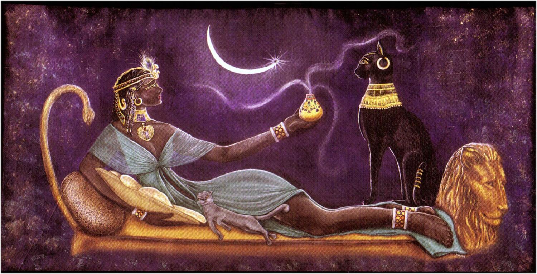 Goddess of Protection Bast (Bastet)