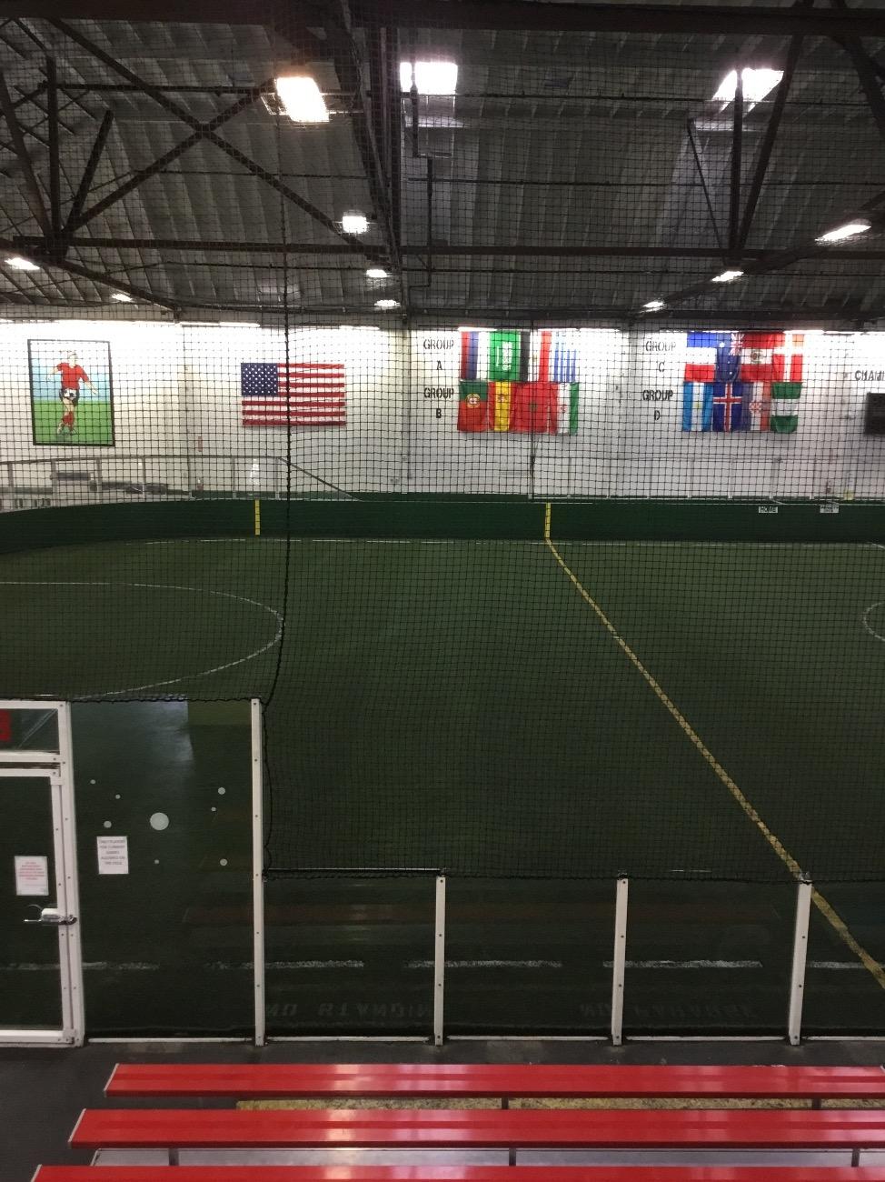 0fdc0f215 Field 1 at Off the Wall Soccer, Santa Clara