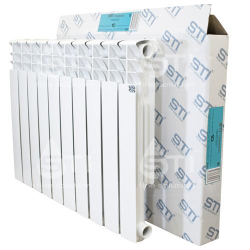 Алюминиевый радиатор STI 500 80 10 секции