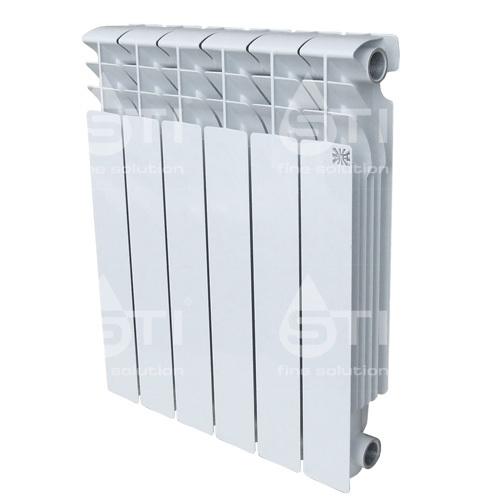 Алюминиевый радиатор STI 500 100 6 секции