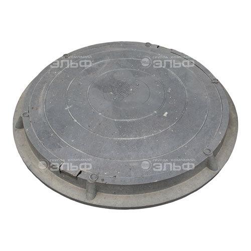 Люк полимерный легкий малый, 30 кН - чёрный