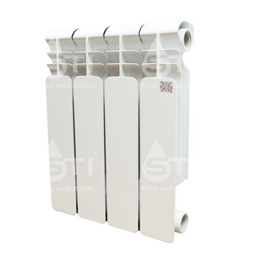 Биметаллический радиатор STI 350 80 6 секции