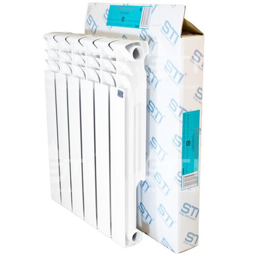 Алюминиевый радиатор STI 500 80 6 секции