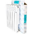 Алюминиевый радиатор STI 500 80 6 секции- фото 1