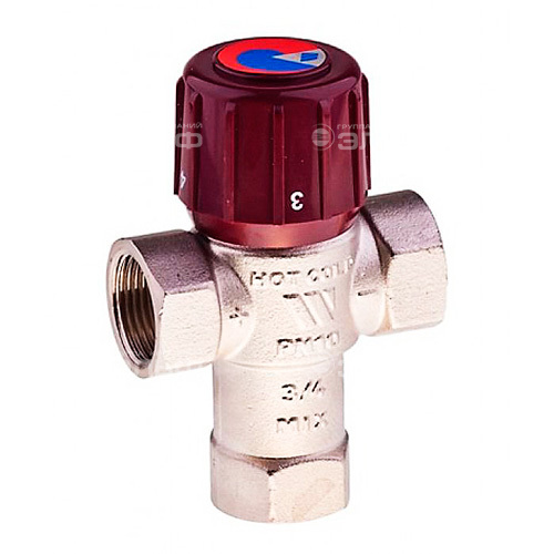 """Термостатический смесительный клапан 3/4"""" Watts AQUAMIX 32-50C"""