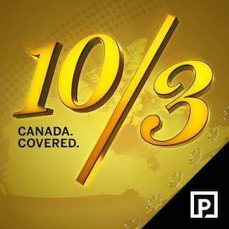 10/3 Canada Covered Cover