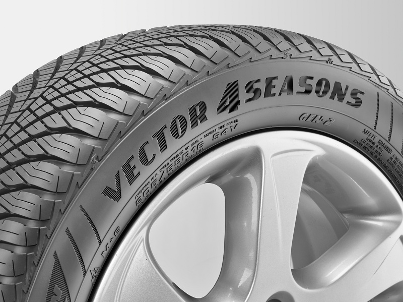 goodyear vector 4seasons resta il miglior pneumatico. Black Bedroom Furniture Sets. Home Design Ideas