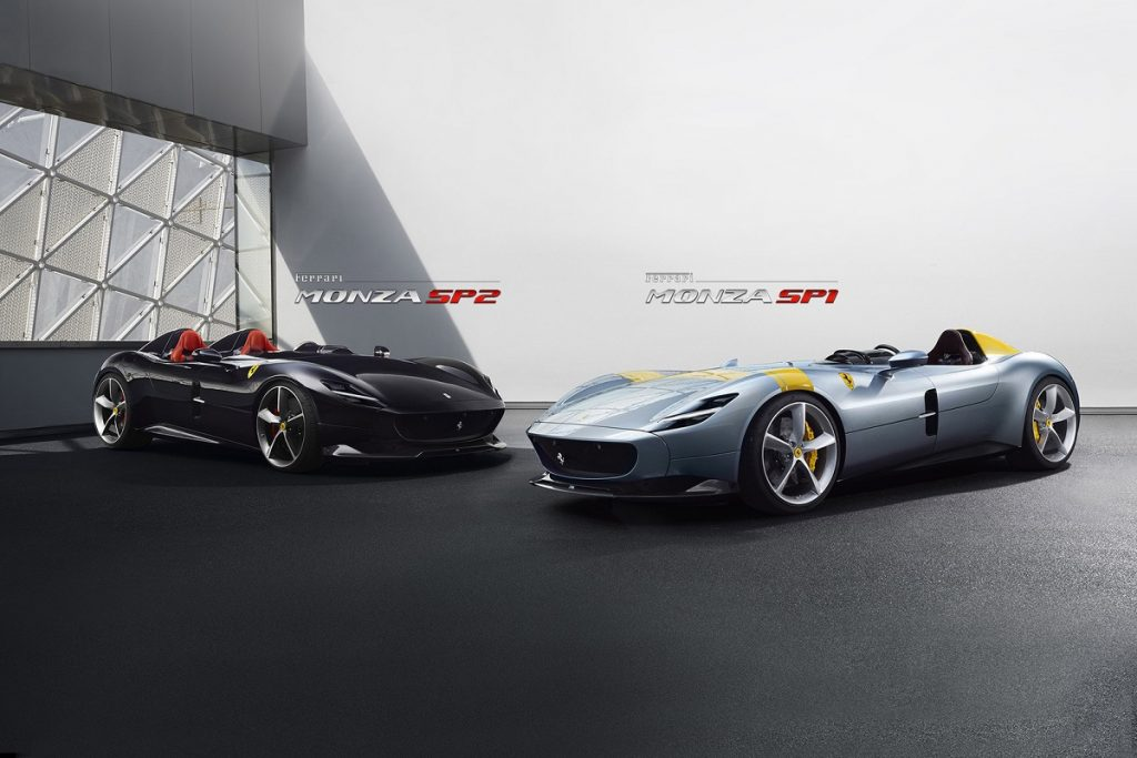 P Zero su misura per le Ferrari Monza al Salone di Parigi - Pneusnews.it 3bd37276be3