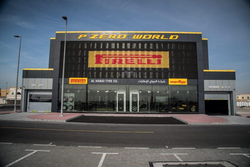 Pirelli apre il P Zero World di Dubai