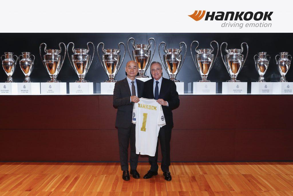 Hankook e Real Madrid C.F. prolungano il loro partenariato fino al 2023