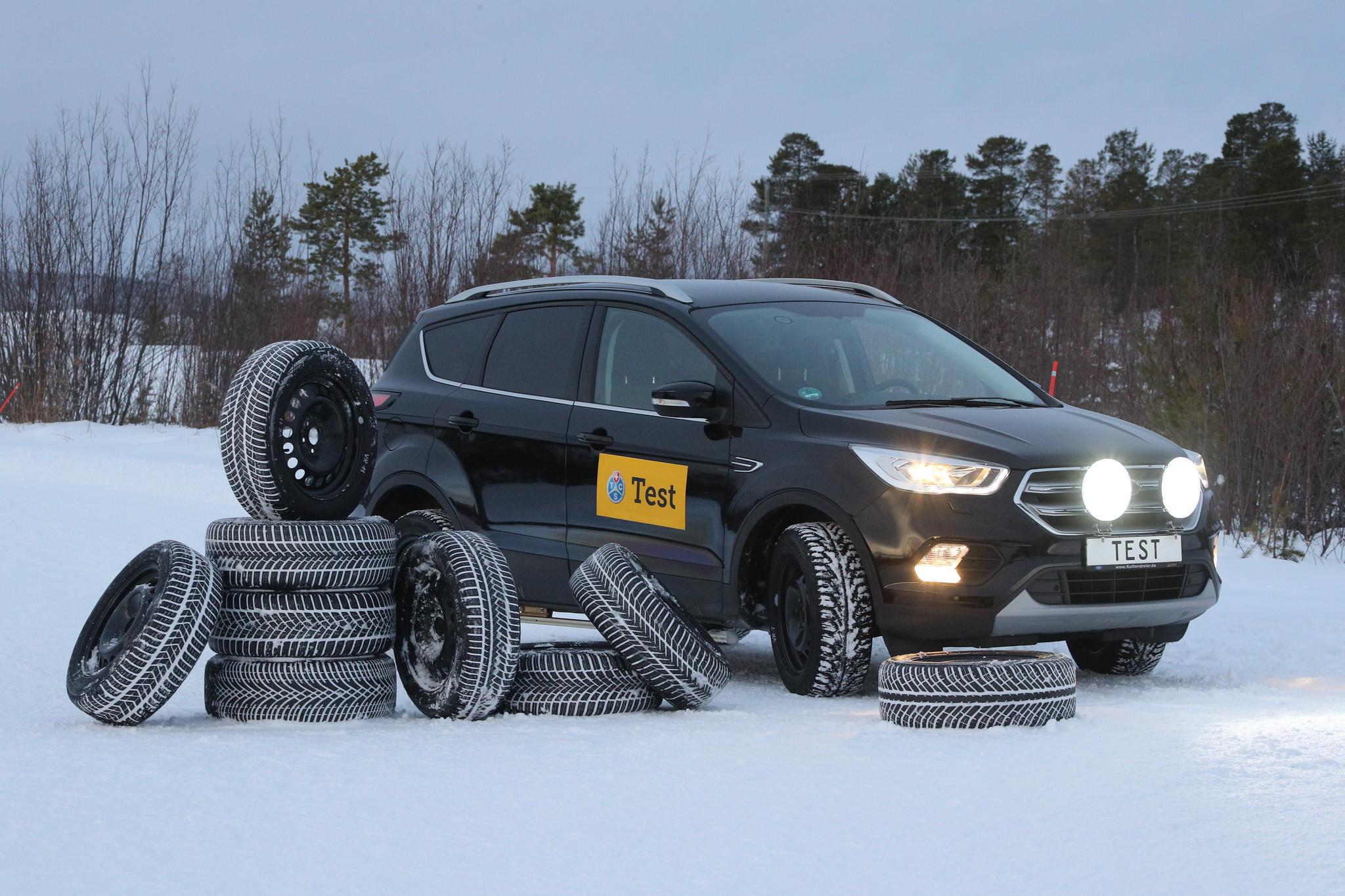 Test TCS pneumatici invernali 2020 – Molteplici lacune su fondo stradale asciutto