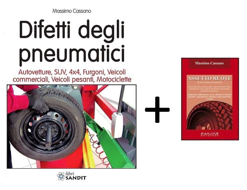 Offerta speciale per i manuali di Cassano: con 'Difetti degli pneumatici' in omaggio l'ebook 'Assetto Ruote'