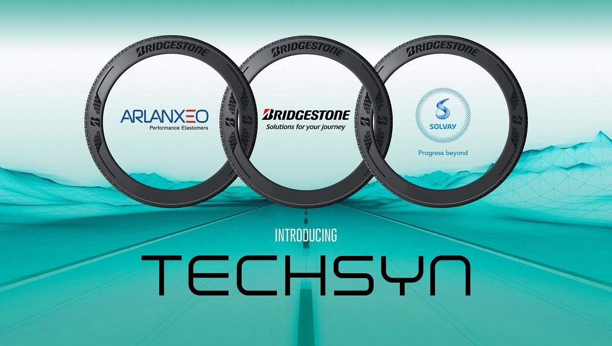 Bridgestone, Arlanxeo e Solvay: durata e prestazioni ambientali con Techsyn