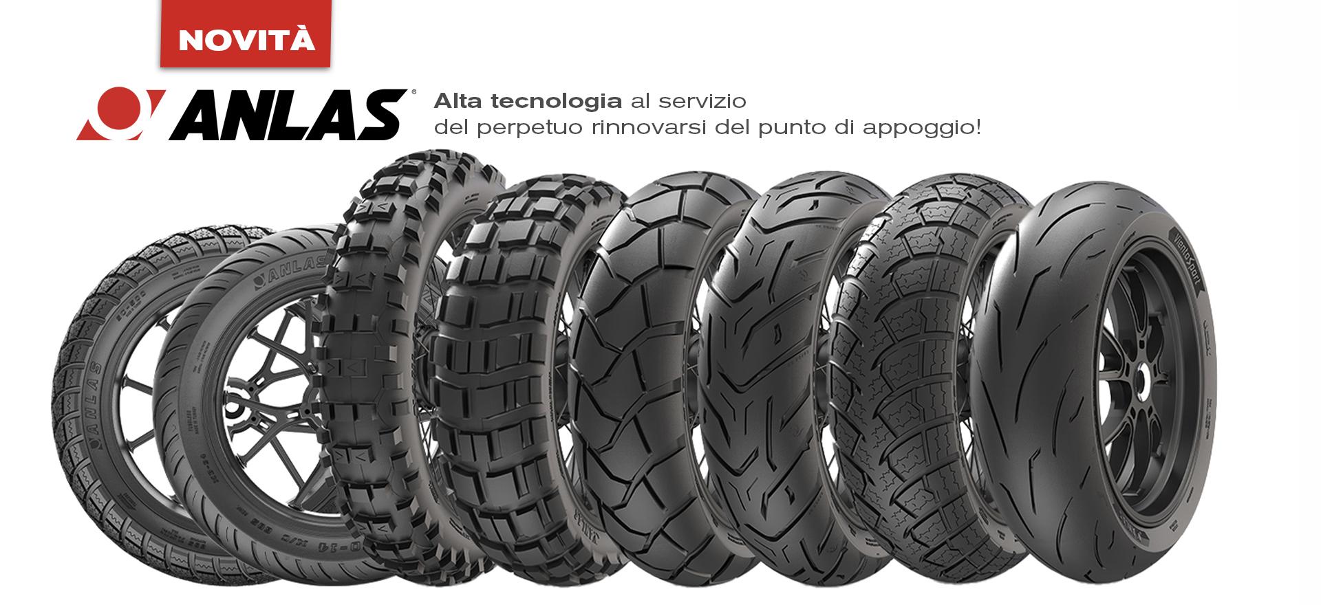 Bergamaschi nuovo distributore dei pneumatici Anlas