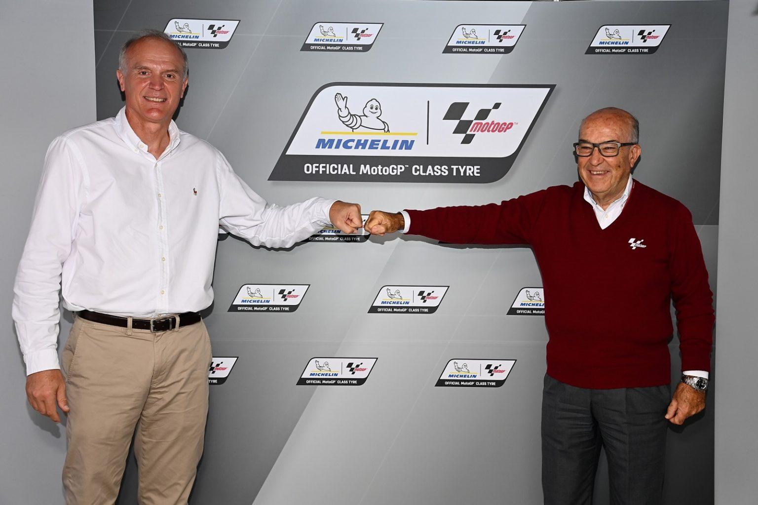 Michelin rimane fornitore unico del MotoGP fino al 2026