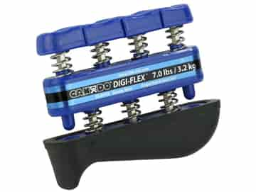 Det näst hårdaste motståndet i DigiFlex serien. Färg: Blå / Blå. Motstånd: 3,2 kg