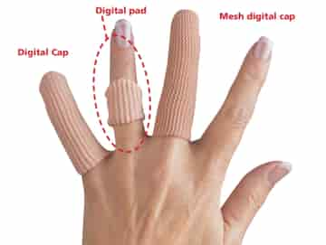 Thero-Gel Digital Finger Skydd/Xl (12)