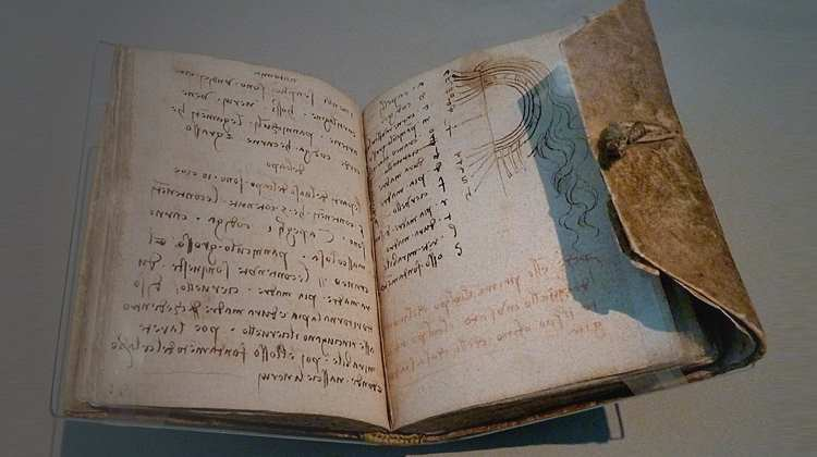 Commonplace Book de Leonardo da Vinci