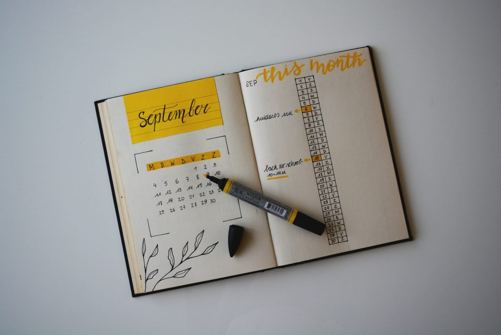 Bullet Journal é um método de organização pessoal.