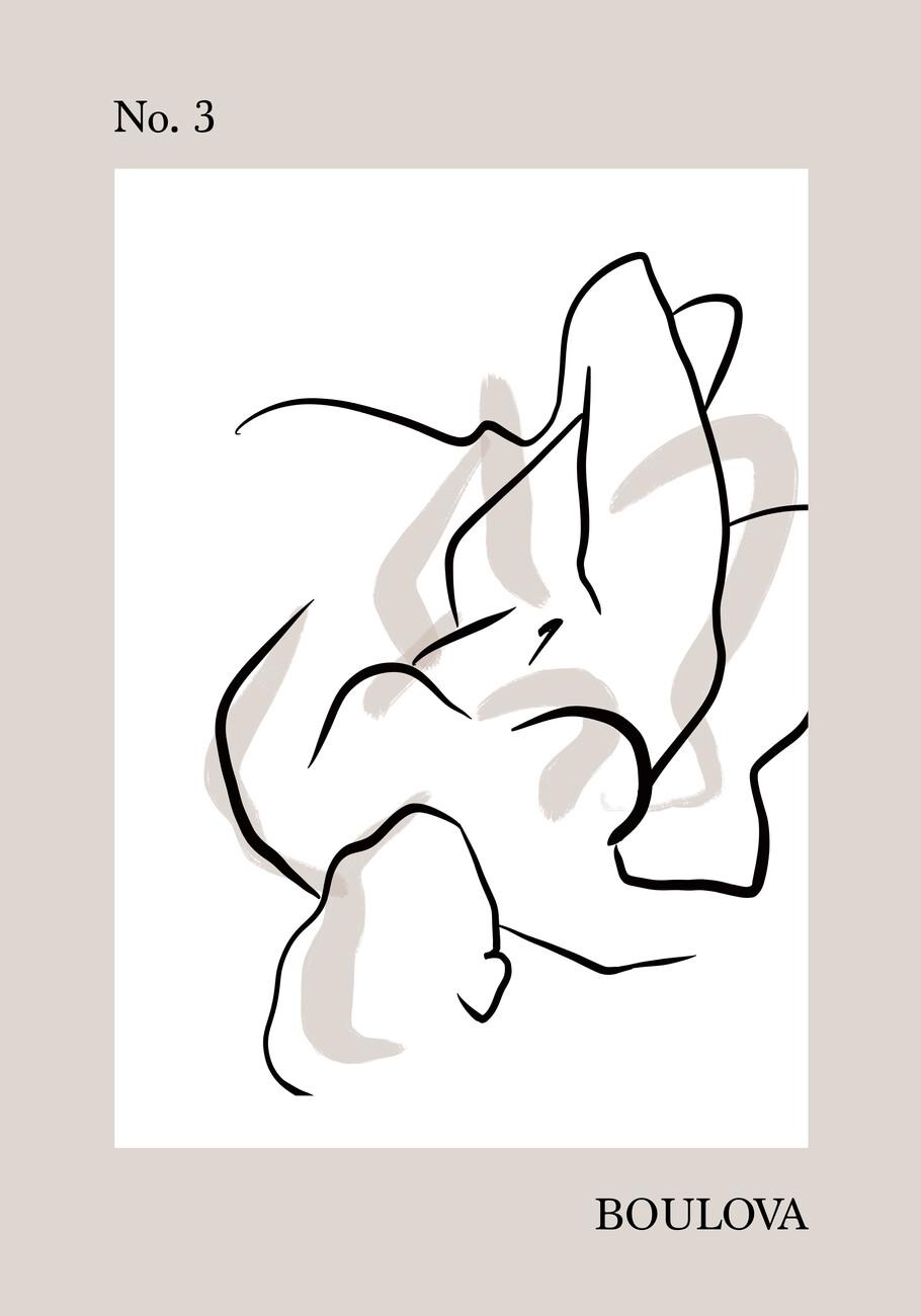 Ilustracija Gentle body no.3