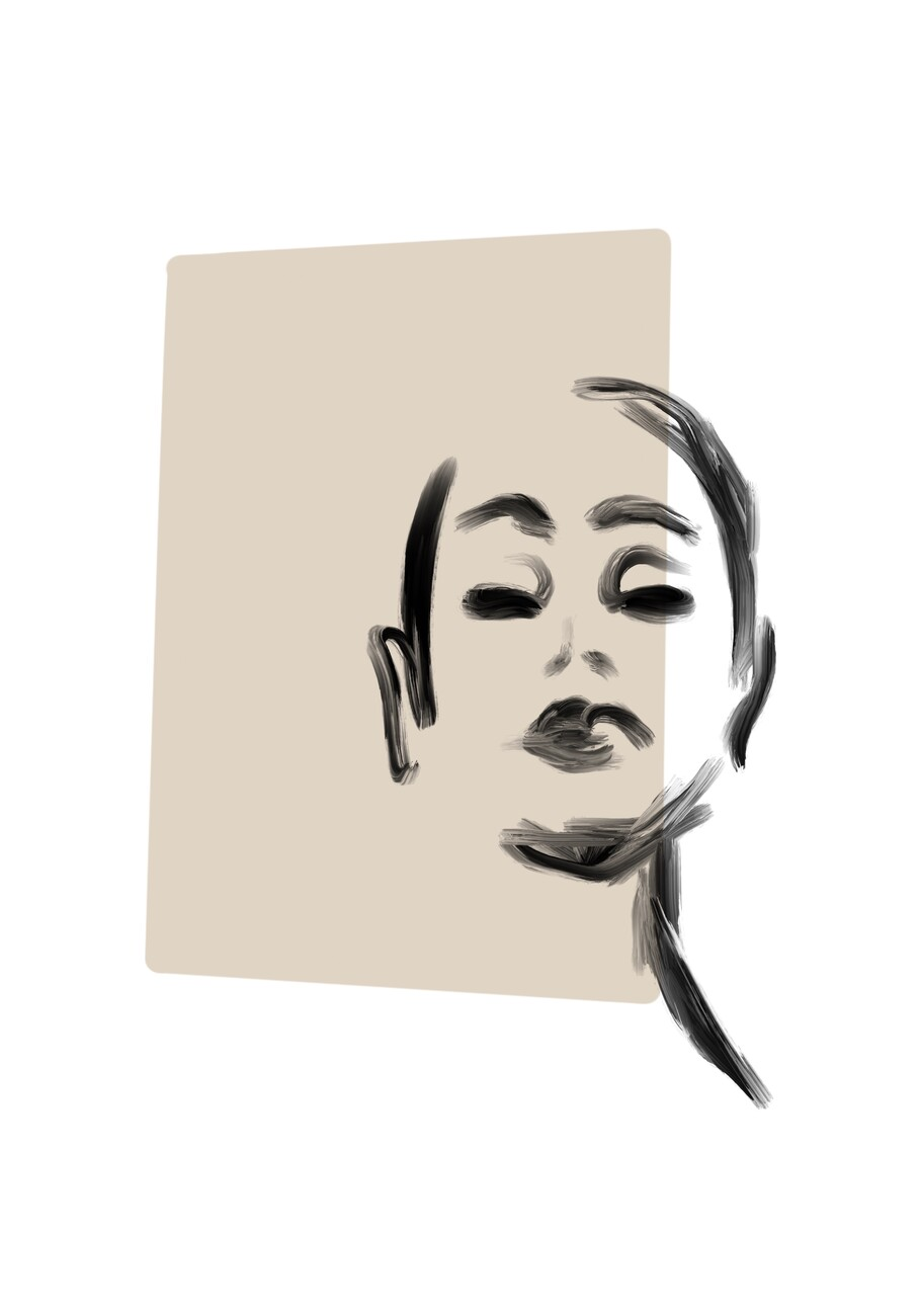 Ilustracija Woman portrait