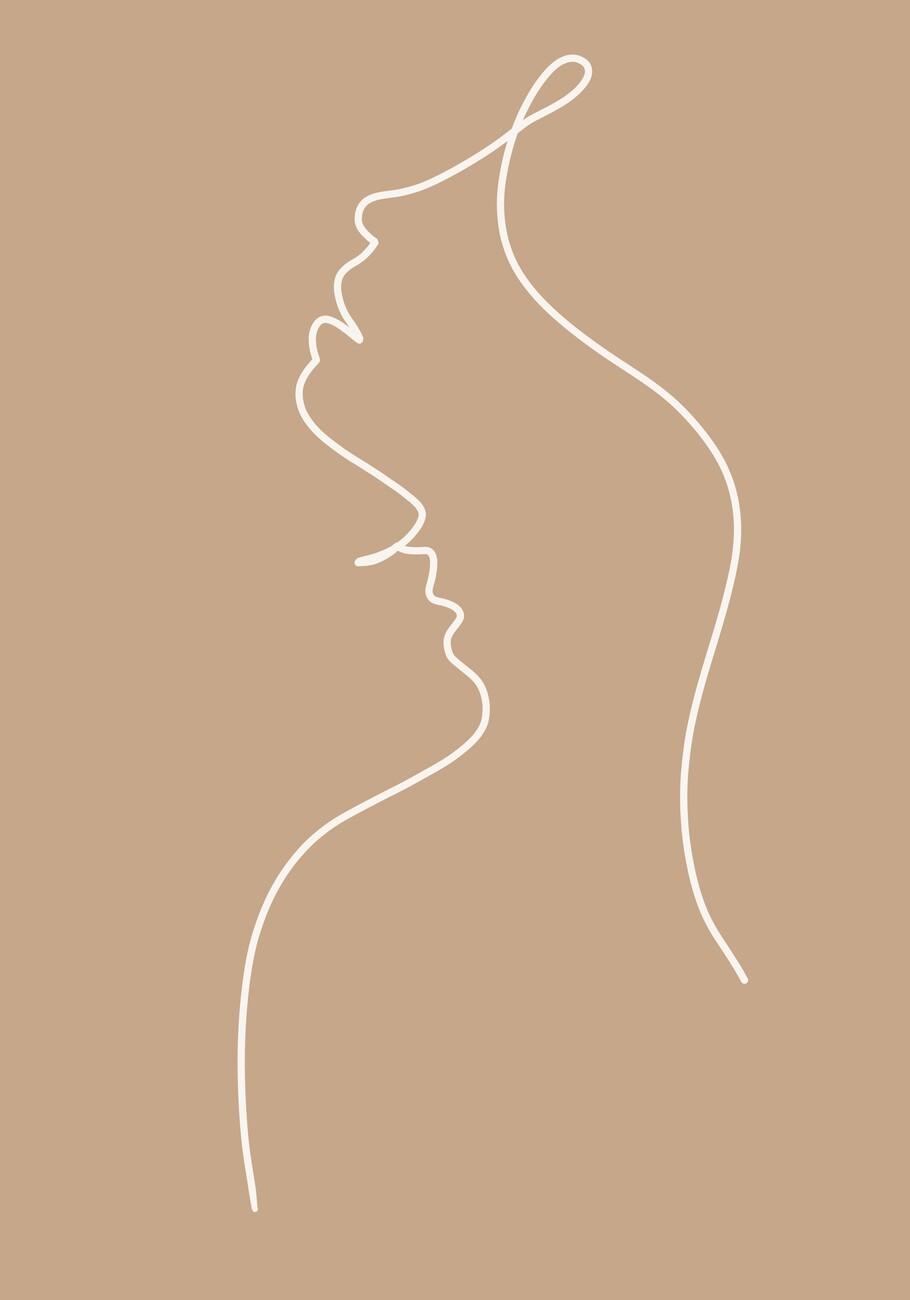 Ilustracija Lovers line art