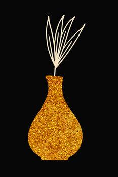 Ilustrare golden vase