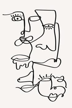 Ilustracija Faces