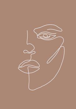 Ilustracija Woman face