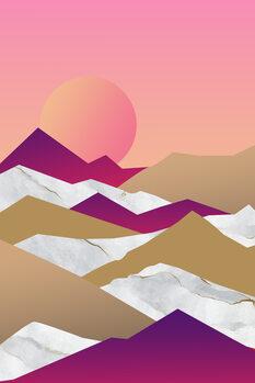 Illustration Hot pink