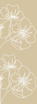 Ilustracija White poppy
