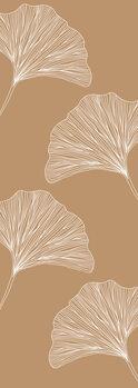 Illustration Nude ginkgo