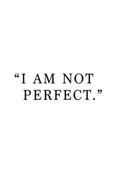 Ilustrace I am not perfect