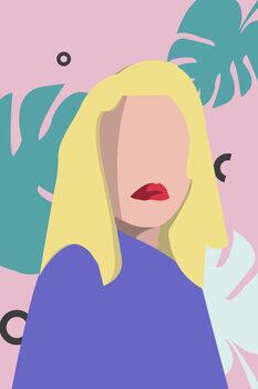 Ilustratie Blond