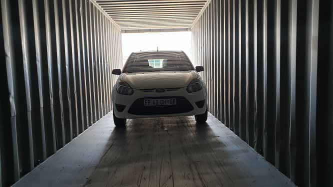parking caravan storage paarl strand container