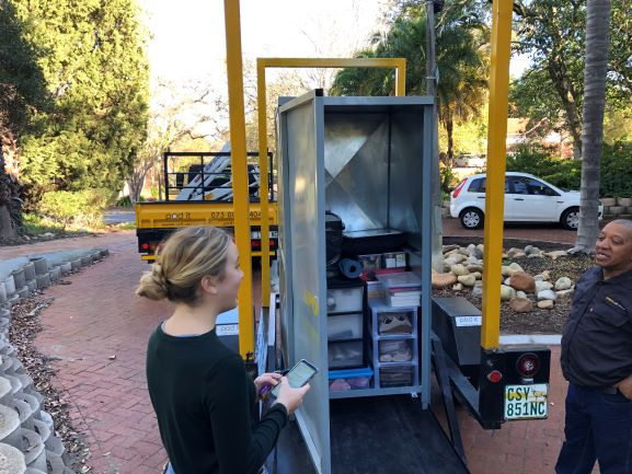 Student storage self-storage Stellenbosch moving removals