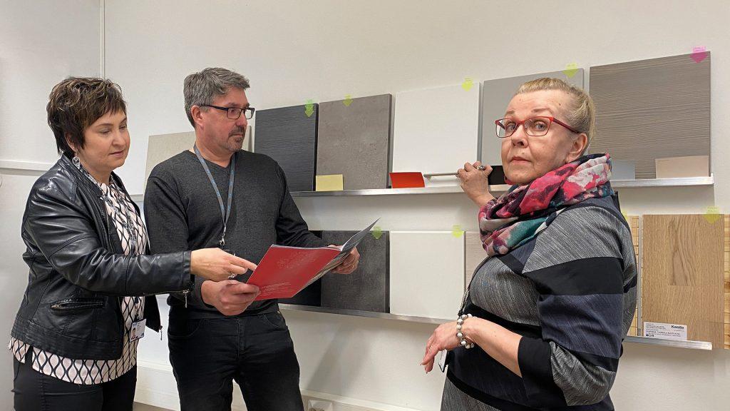Jaana Dahl, Kai Tuurimäki ja Tiina Manninen
