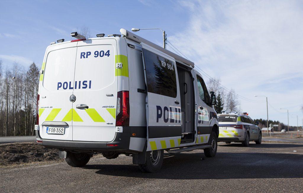 Pohjanmaan poliisilaitoksen uusi vaaka-auto