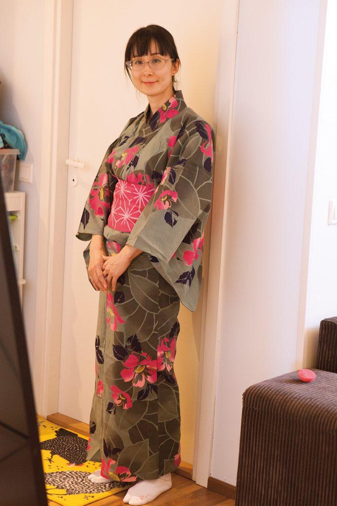 suomalais-japanilainen perhe äiti Ayjumi
