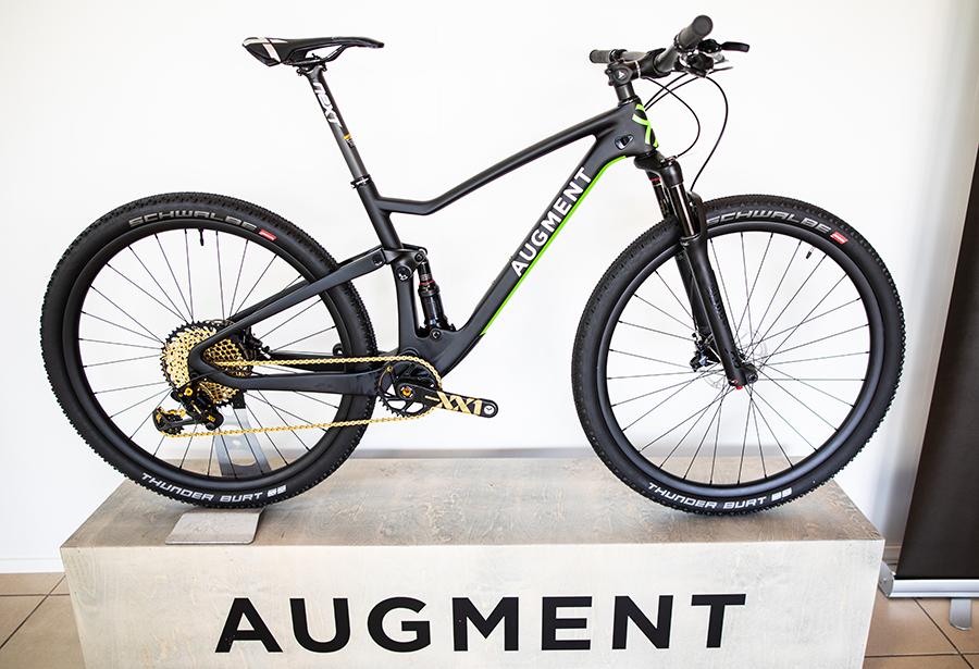 Augment Biken pyörät menestyvät hyvin kilpatasolla varsinkin maastopyöräilyssä.