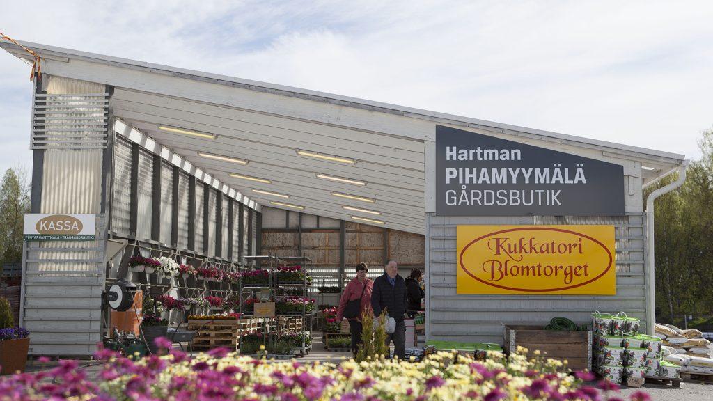 Rautakauppa Hartman puutarhamyymälä
