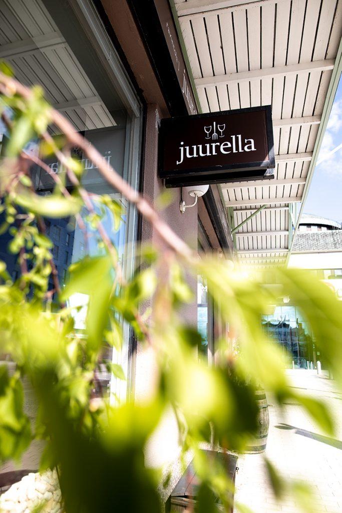 Ruokaprovinssimerkki ravintola Juurella