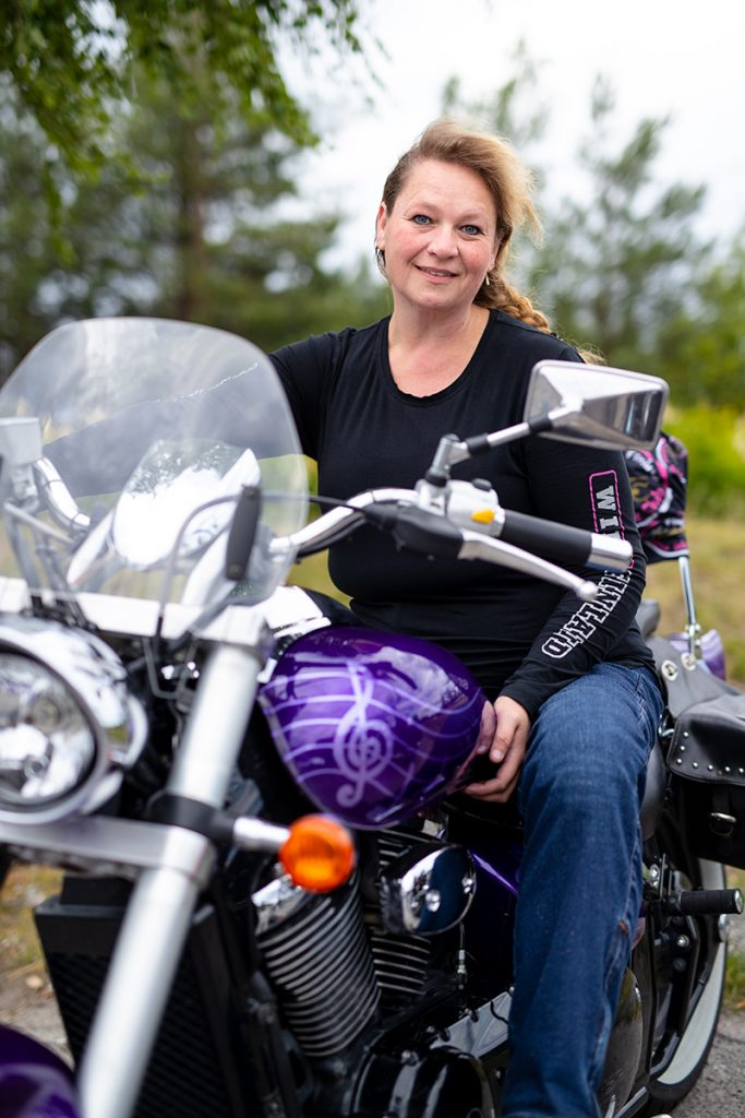 Ladies´ Bike Club Marjo Kivimäki
