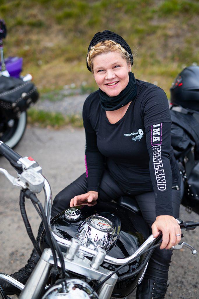 Ladies´ Bike Club Johanna Rapo