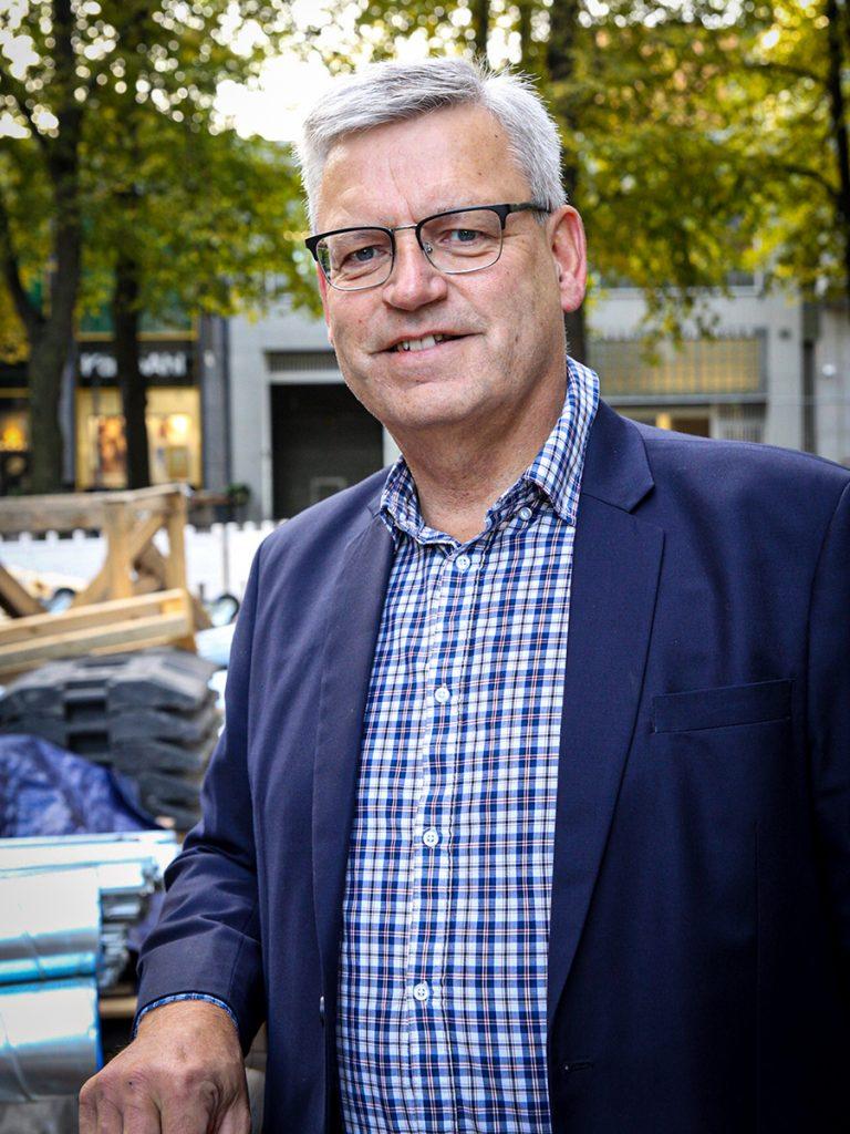 yritysten kiertotalous hankepäällikkö Göran Östberg