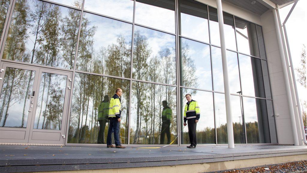 Alajärven Sähkö uudet toimitilat
